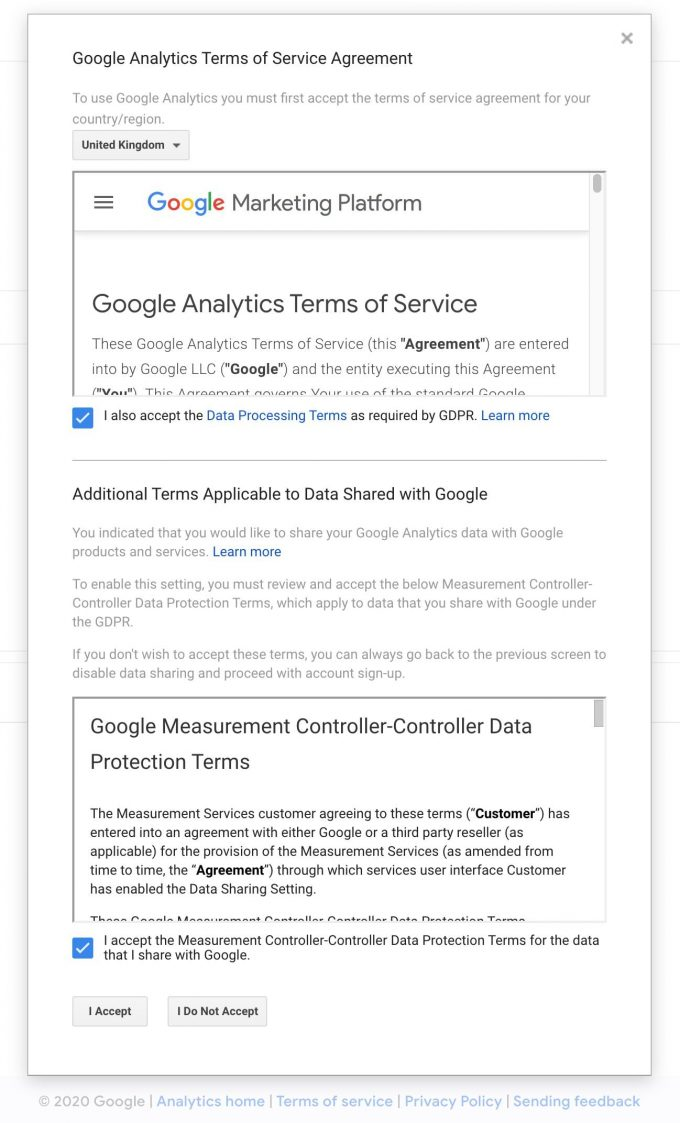 google analytics tworzenie konta 4