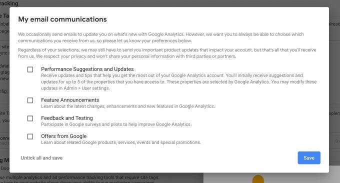 google analytics tworzenie konta 5