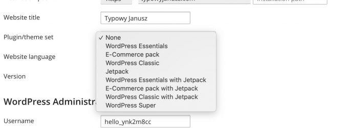 plesk wordpress plugin set