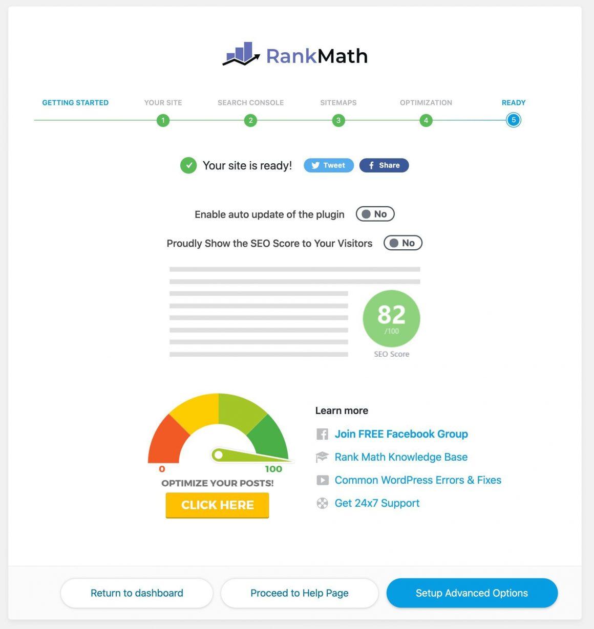 Rank Math ustawienia zaawansowane