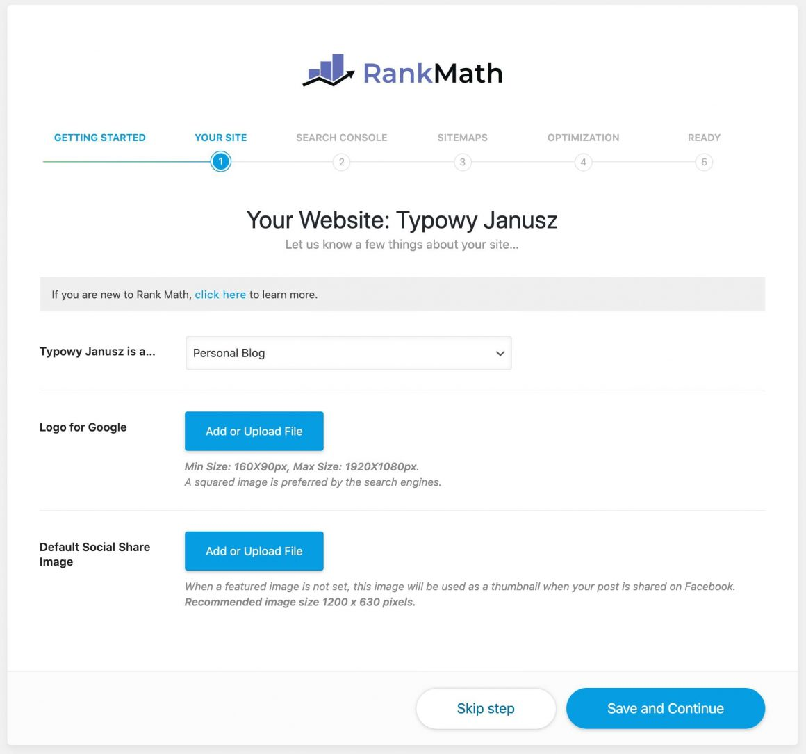 Rank Math Your Site