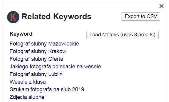 keyword everywhere1 1