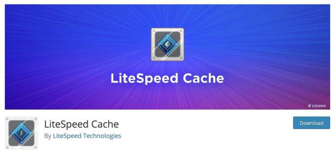 wtyczka wordpress litespeed cache