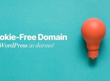 cookie free domain wordpress