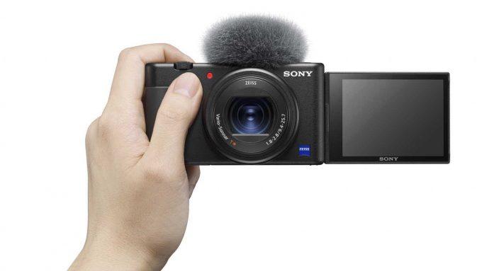 Sony ZV 1 uchylany ekran