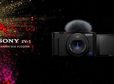Sony ZV-1 - Kamera dla vlogera